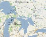 FS2004 Flight Plan for OB-9 Bayshore Michigan