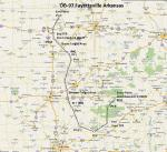 FS2004 Flight Plan for OB-97 Fayetteville Arkansas