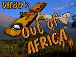 Out Of Africa DH80a Pack