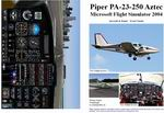 FS2004                   Manual/Checklist Piper PA-23-250 Aztec