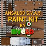 FS2004 Ansaldo S.V.A.-5 (V.01) - PAINTKIT