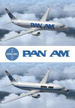 FSX Boeing 737-800 Pan Am Textures