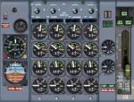 FSX Boeing 707 Alitalia Texture and Panel Update