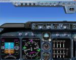 FSX Panel 2D 4 Engine Jet Panel