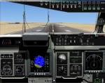 FSX Boeing C-17 2D  Panel