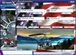 USA Themed Menu Splashscreens for FSX