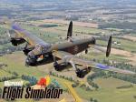 FSX Lancaster Bomber Splashscreen
