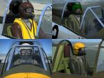 Pilot Pack 2- Multi-National Pilots V1.0 for A2A WoP2 aircraft.