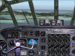 FS2004 panel for B-36 bomber