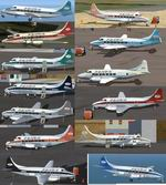 FSX/2004                   De Havilland DH-114 Heron, Prinair Multi-Plane package