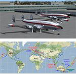 Mission/Navigation - Qantas Around the World FSX Flight Plans