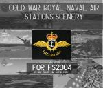 Royal Naval Air Station 'Retro' Scenery Pack for FS2004