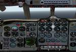 FS2000                   DH106 Comet 4C Real Panel