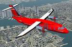 FS2004                   Dornier DO-328 - 'Lusitania' Red Devil.