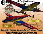 deHavilland DH91 Albatross - SCADTA Columbia Textures