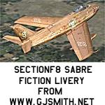Golden SectionF8 F-86 Fictional Textures