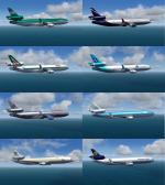 P3D/FSX McDonnell Douglas MD-11 MegaPack
