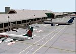 FS2000                     Scenery--SANTA ANA ORANGE COUNTY JOHN WAYNE AIRPORT.