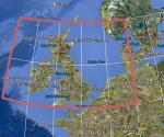 CGIAR-CSI v4.1 90 metre SRTM mesh for British Isles & NW Europe