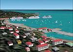 FS2002                   Scenery St Thomas, US Virgin Islands.