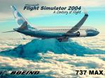 FS2004 Boeing 737 Max Splash Screen
