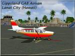FS2004                   Gippsland GA-8 Airvan Red Sunshine Textures only