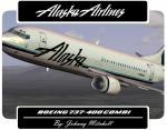FSX Wilco 737-400 Alaska Airlines Combi Textures