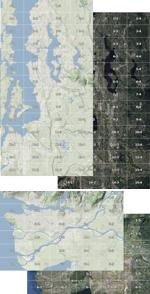 FS Map Navigator Calibrated Maps - Washington and Vancouver