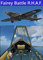 FSX Acceleration Fairey Battle MK I RHAF Package