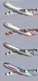 Airbus A340 2-3 Mega Package