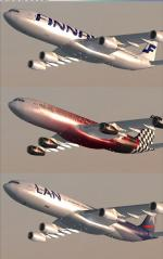 Airbus A340 Multi-Livery Mega-Package Vol.1 Thumbnails