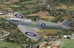 FSX/FS2004 K5054 Spitfire Prototype