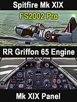 FS                   2002 Pro Griffon 65 Powered Spitfire PR MkXIX