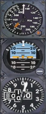 FS9 / FSX Standby Gauges for Libardo Guzman Concorde (Complete Panel Update)