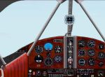 "FS2000                     Panel FS2000 Panel for the Beechcraft D-17 ""Staggerwing"""