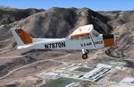 USAFT-41 Mescalero - Cessna 172 Textures