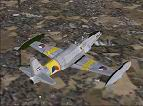 FS2004                   T-33A in early Royal Dutch Air Force textures only.