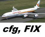 A340-300 Surinam Airways  config update/FIX