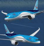 TDS Boeing 787-8 Dreamliner Arke PH-TFM Textures Fix