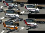 P3D/FSX King Air 200 Lead Plane / Air Attack Pack with IR Camera