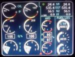 737-8 FSX EICAS Secondary Gauge