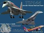 FS2004                   TU144 - Transload Virtual Airlines Textures only