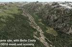 FS2004                     Bella Coola Valley Terrain Mesh and Scenery Enhancements