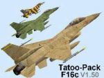 Tatoo-Pack                   F16c V1.50 -FS2000 ONLY-