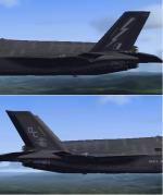 FSX/P3D F-35 VMFA122 & 617 RAF Textures