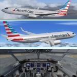 American Airlines Boeing 737-800WL N908NN