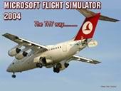 FS2004                     Avro RJ70 THY Splash Screen
