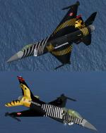 FSX/FS2004 F-16 Demo Pack vol.7 Soloturk 91-0011