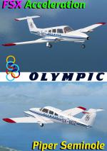 FSX Acceleration Piper PA-44 Seminole Olympic package.