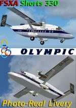 FSX/FS9 Shorts S330 Olympic Fleet photoreal package.